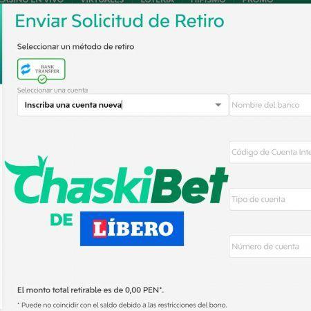 ¿Cómo retirar dinero en Chaskibet?